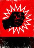 Illustration of fist — Stock Vector