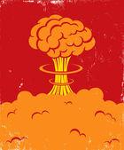 Explosie — Stockvector