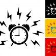 Alarm clock — Stock Vector #23128414