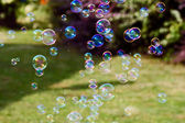 肥皂泡 — 图库照片