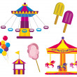 Amusement Park — Stock Vector #31649685