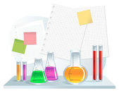 Laboratory — Stock Vector