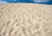 Mountain of sand — Stock Photo