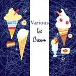 Ice cream graphics — Stock Vector #22700759