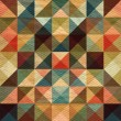 Interesting texture of colored triangles — Stock Photo