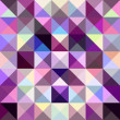 Interesting texture of colored triangles - Stock Photo