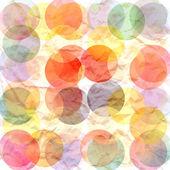 Círculos de cor de fundo — Foto Stock