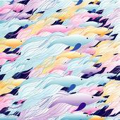 魚の背景 — ストックベクタ