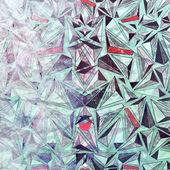 抽象的なテクスチャの三角形 — ストック写真