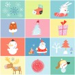 Different holiday for the new year — Stock Vector
