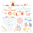 Autumn set — Stock Vector #30252539