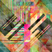 Abstract geometric pattern — Stock Photo
