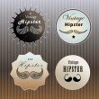 Set of emblems hipster — Stock Vector #30401209