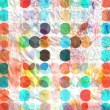 Abstract geometric pattern of circles — Stock Photo