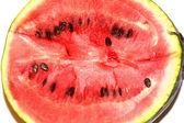 Half a large watermelon — Stock Photo