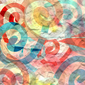 Abstract background of scrollwork — Stock Photo