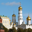 Moscow Kremlin view from the bell tower of Ivan the Great — Stock Photo #32842417