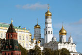Moscow Kremlin view from the bell tower of Ivan the Great — Stock Photo