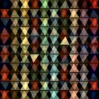 Abstract geometric pattern of triangles — Stock Photo