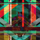 Abstract geometric pattern — Stock Photo