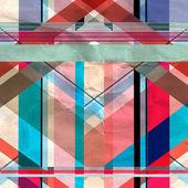 Padrão geométrico abstrato — Fotografia Stock
