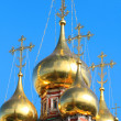 Golden dome of the church  — Stock Photo
