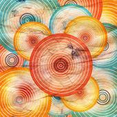 Geometrica acquerello astratto — Foto Stock