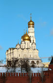 Church and bell tower of Ivan the Great in Moscow — Stock Photo