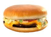 Delicious cheeseburger — Stock Photo