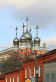 Beautiful church in Moscow — Stock Photo