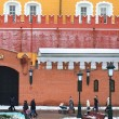 Part of the Kremlin wall on Red Square in Moscow — Stock Photo #38510881