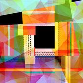 Abstrakt färgstarka bakgrund — Stockfoto