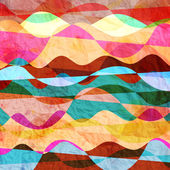 Wavy abstract watercolor background — Zdjęcie stockowe