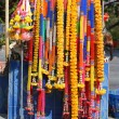 Stock Photo: Sacred flower garlands