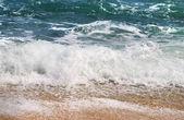 Onda de espuma do mar — Foto Stock