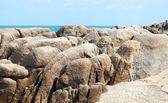 Stones on the beach  — Stock Photo