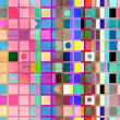 Abstract geometric pattern of squares — Stock Photo #48040117