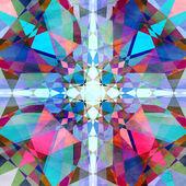 Modèle abstrait coloré — Photo