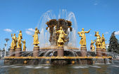 """Fountain """"Friendship of Peoples"""" in Moscow  — Photo"""