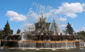 "Fountain ""Stone Flower"" in Moscow  — Foto Stock"