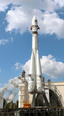"""Copy of the carrier rocket """"Vostok"""" — Stock Photo"""
