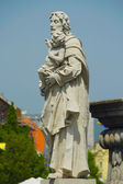 Historic religious statue in Old Town of Kosice, Slovakia — Stock Photo