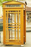 Caseta de madera al aire libre karlovy varía — Foto de Stock