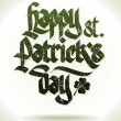 Happy st. patrick's day card - Grafika wektorowa