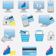 Royalty-Free Stock Vector Image: Business icons.