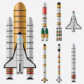 Rockets. — Stock Vector