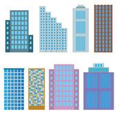Modern houses. — Stock Vector