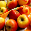 Assortment of Autumn Apples — Stock Photo