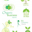 Organic&Bio vector collection — Stock Vector