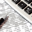 Stock Photo: Calculations,accounting concept